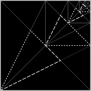 Square in square (diagonal)